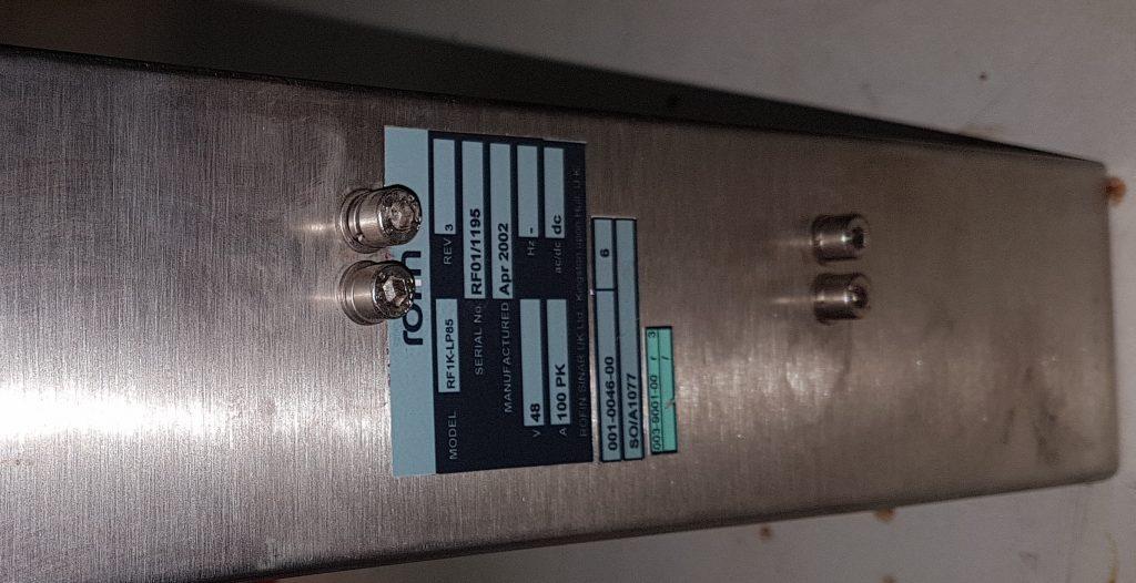 Laser Rofin OEM10 RF unit