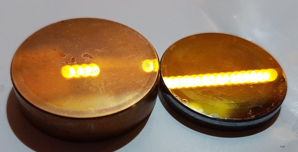 Espejo cobre Rofin OEM10