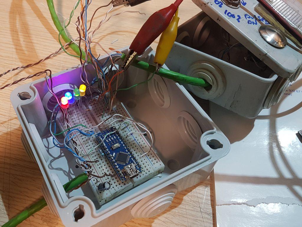 Laser Epilog control.