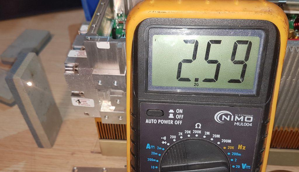 Circuito RF coherent GEM